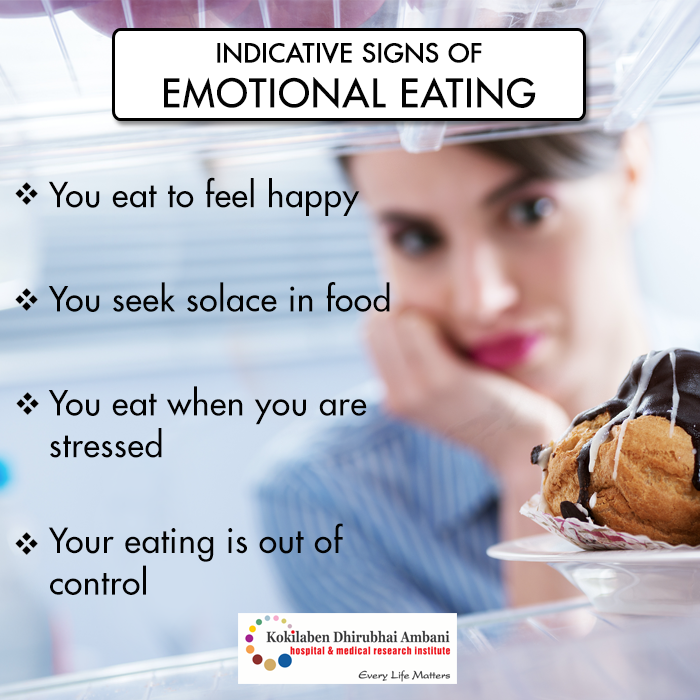 Watch out for these signs of Emotional eating: