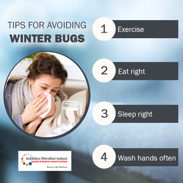 Tips for avoiding winter bugs
