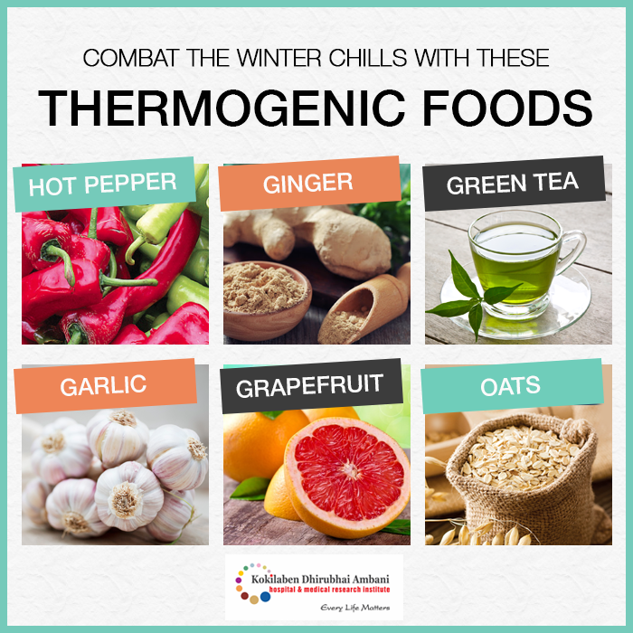 Thermogenic Foods: Eating to Stay Warm