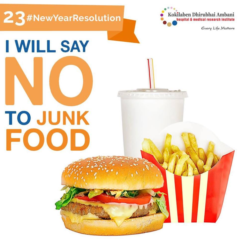 Say No to Junk Foods - Health Tips from Kokilaben Hospital