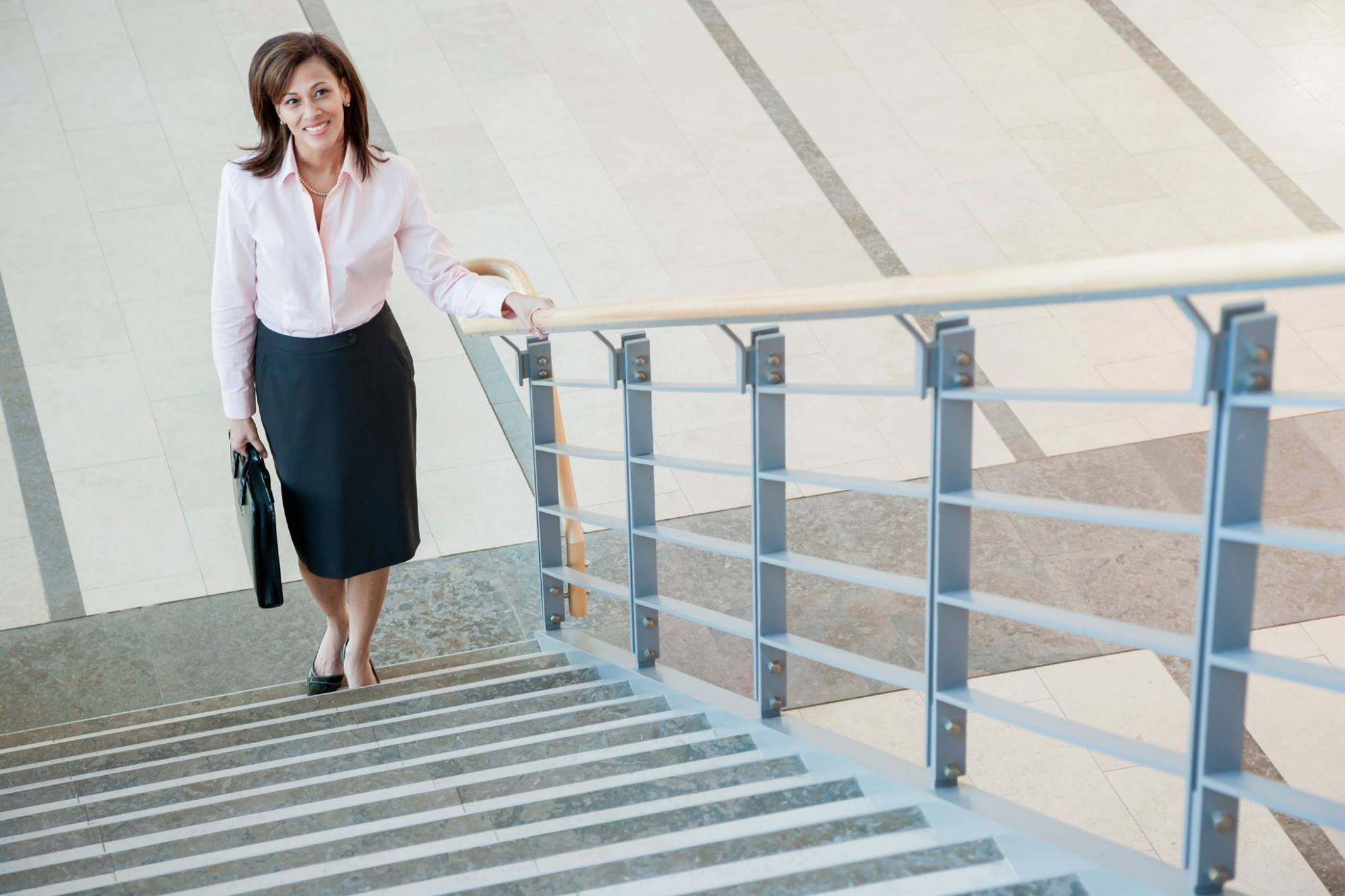No time to exercise? Climb stairs