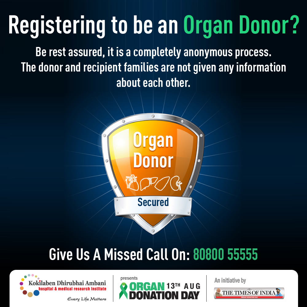 Registering to be an Organ Donar?