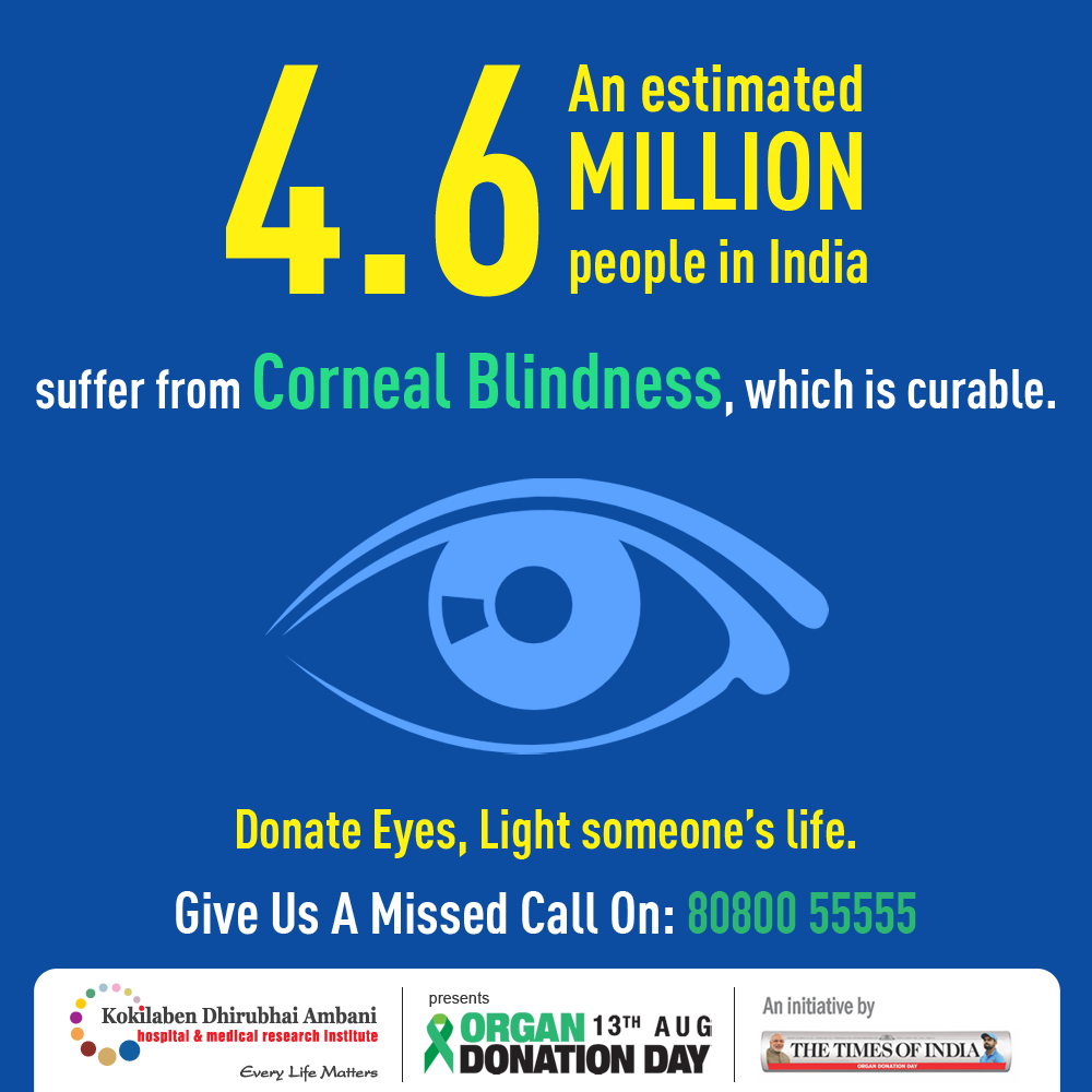 Donate Eyes, Light someone's life