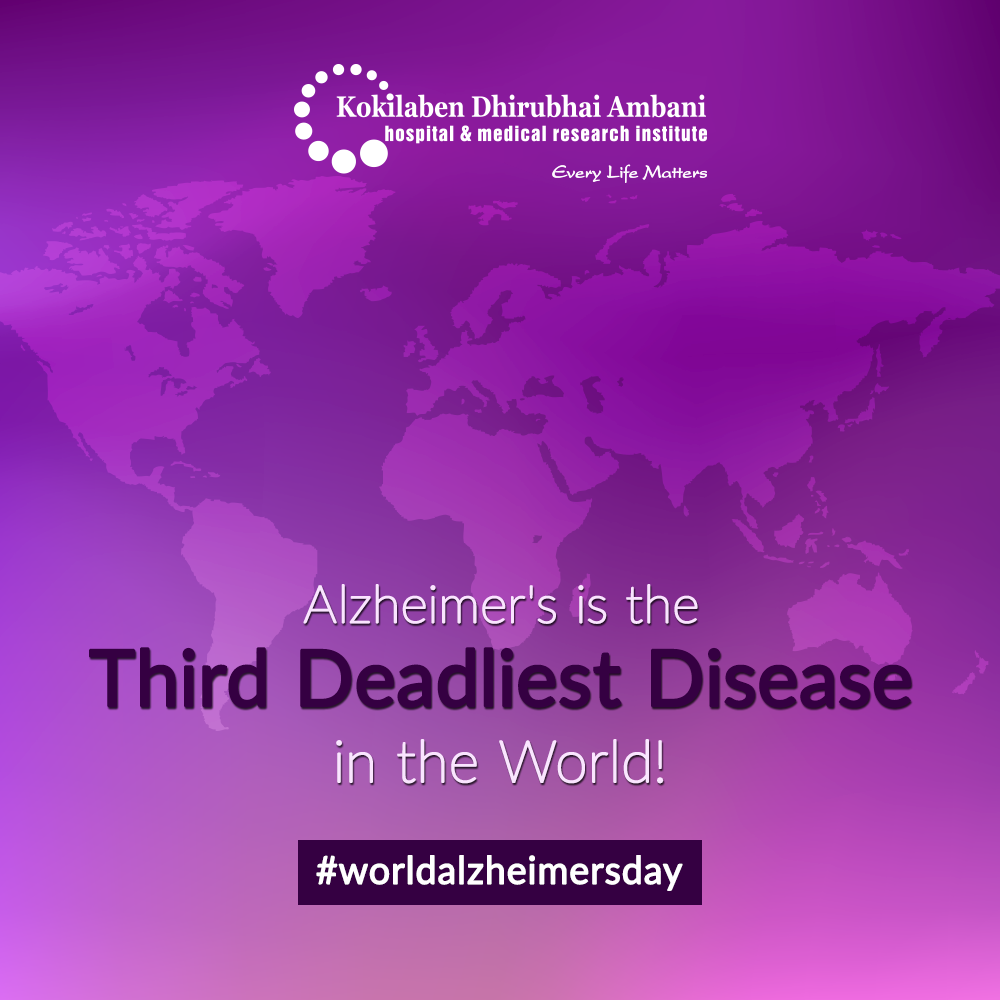 Alzheimer's is the third deadliest disease in world!