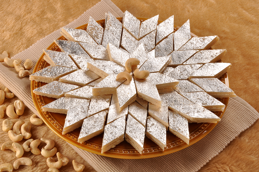 Is it safe to eat sweets coated with silver foil?