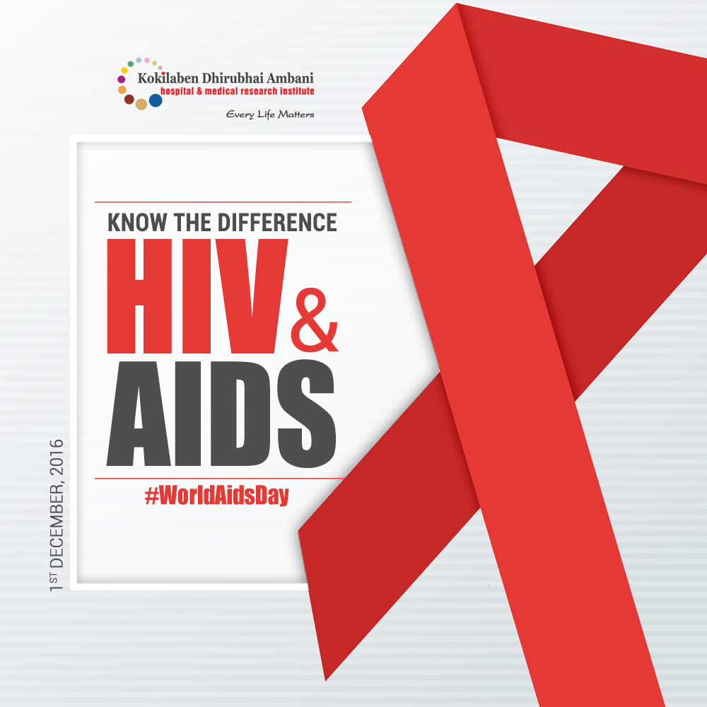 Know the difference between HIV & AIDS