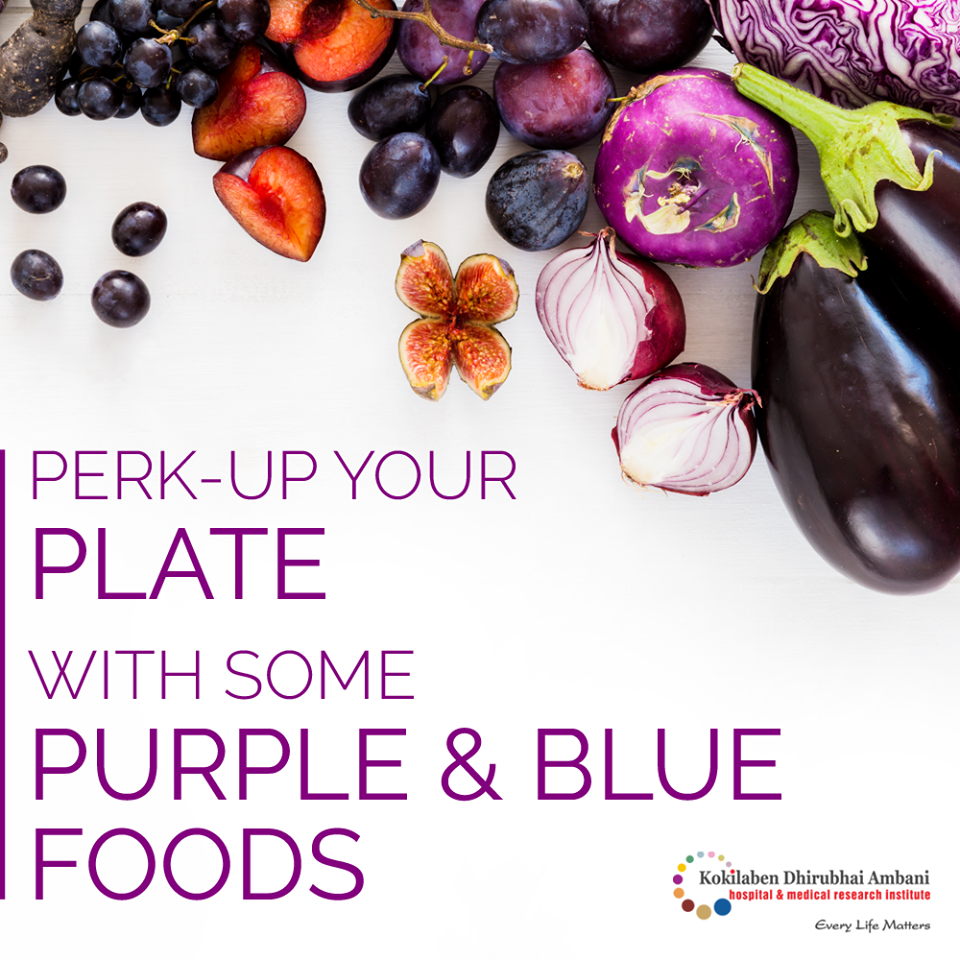 Blue & Purple foods for a better health!