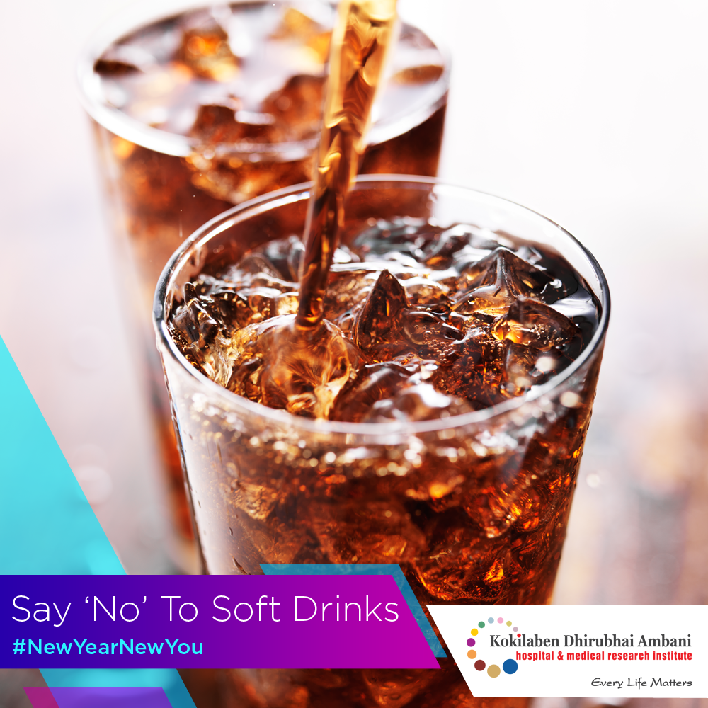 Say NO to soft drinks!