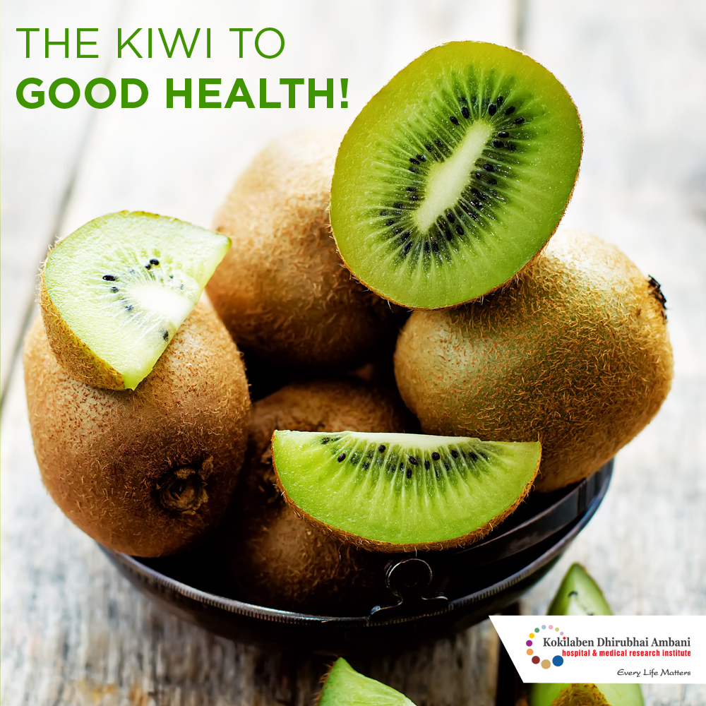 The Kiwi to good health!