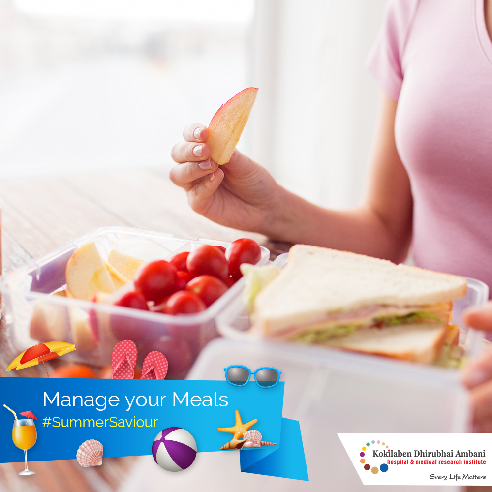 Manage your meals