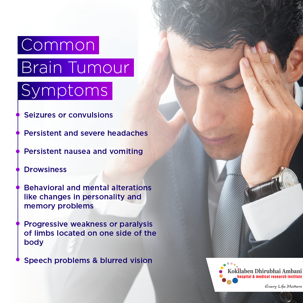 Symptoms of Brain Tumor - Health Tips from Kokilaben Hospital