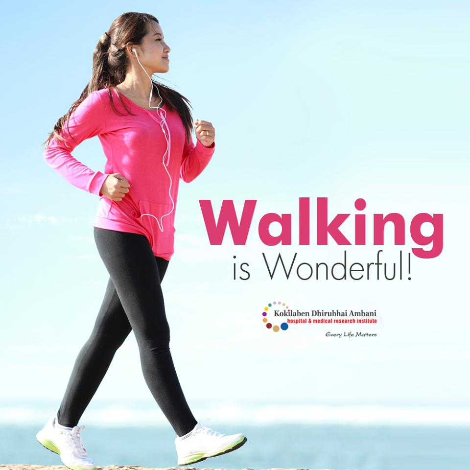 Walking is wonderful!