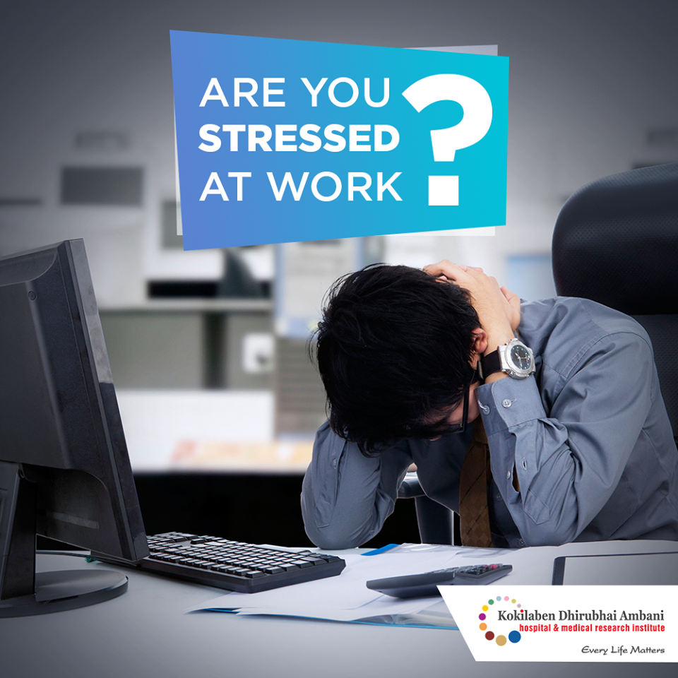 Are you stressed at work?