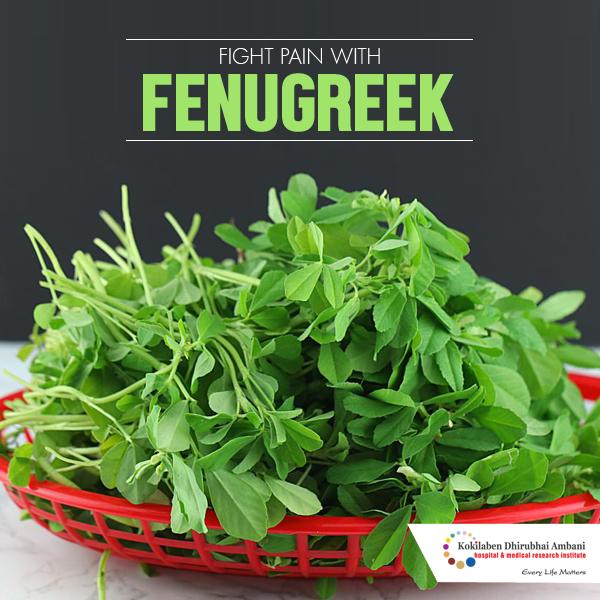 Fight pain with Fenugreek