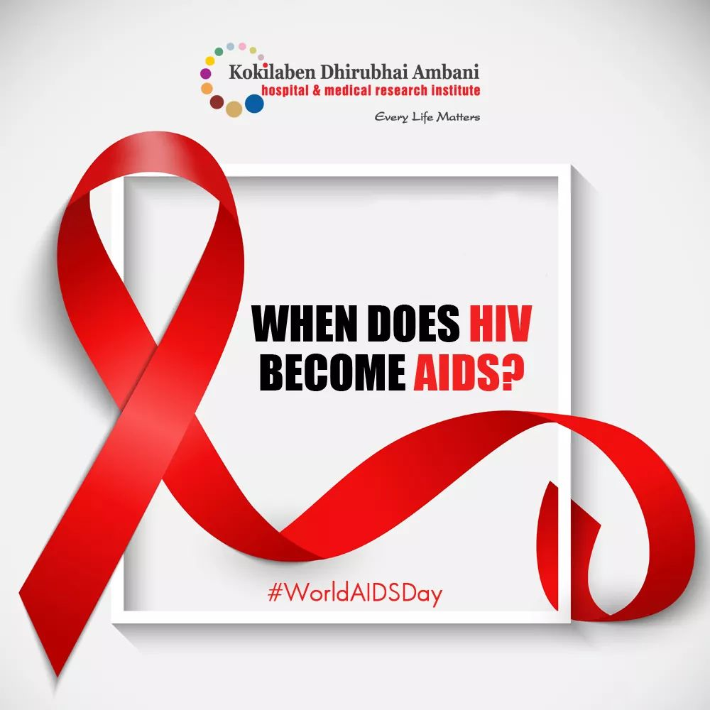 When does HIV become AIDS?