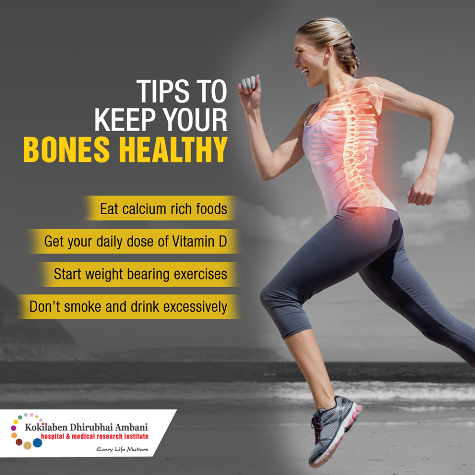 Tips to keep your bones healthy