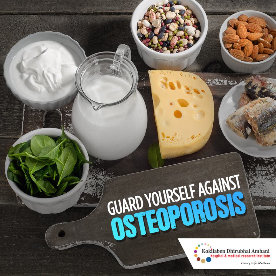 Guard yourself against osteoporosis