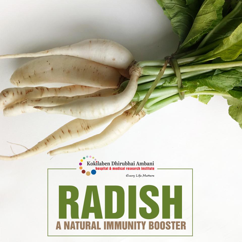 Benefits of Radish