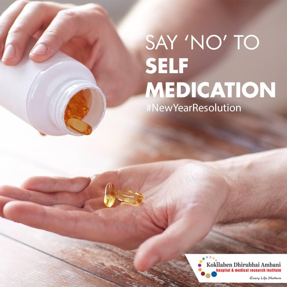 Say NO to self medication