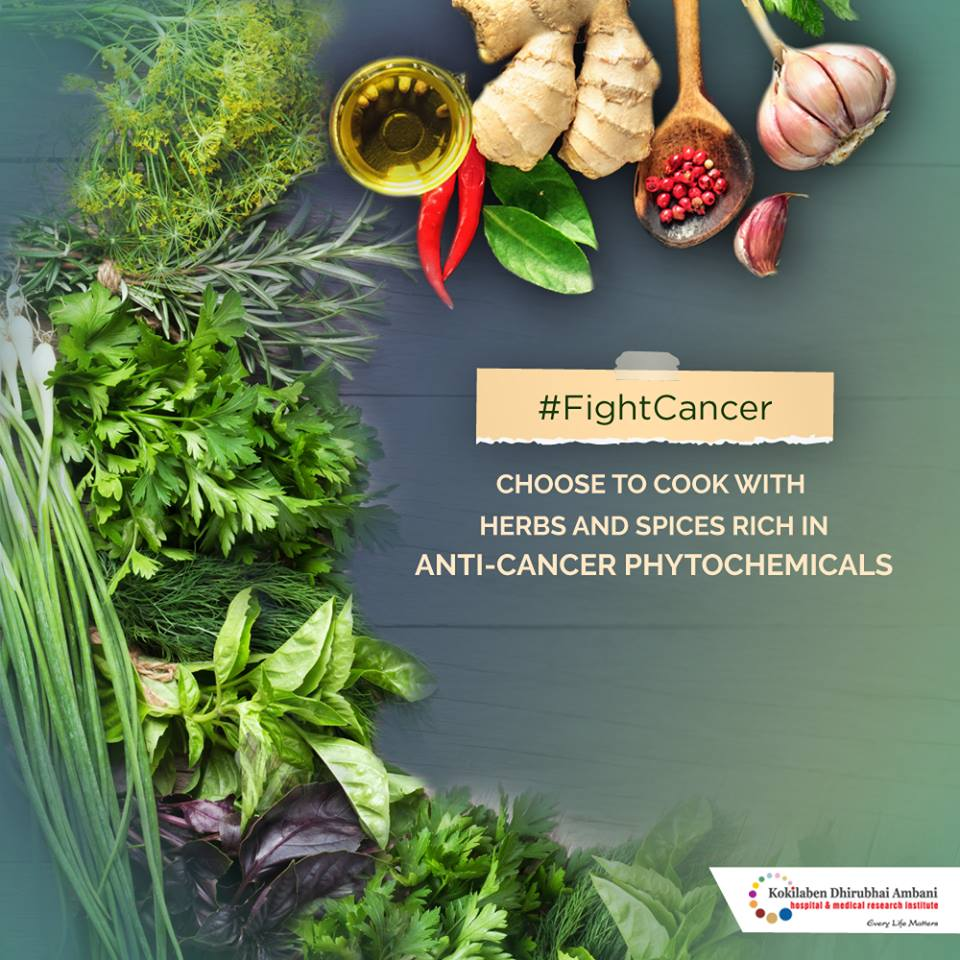 Herbs & spices that fight cancer