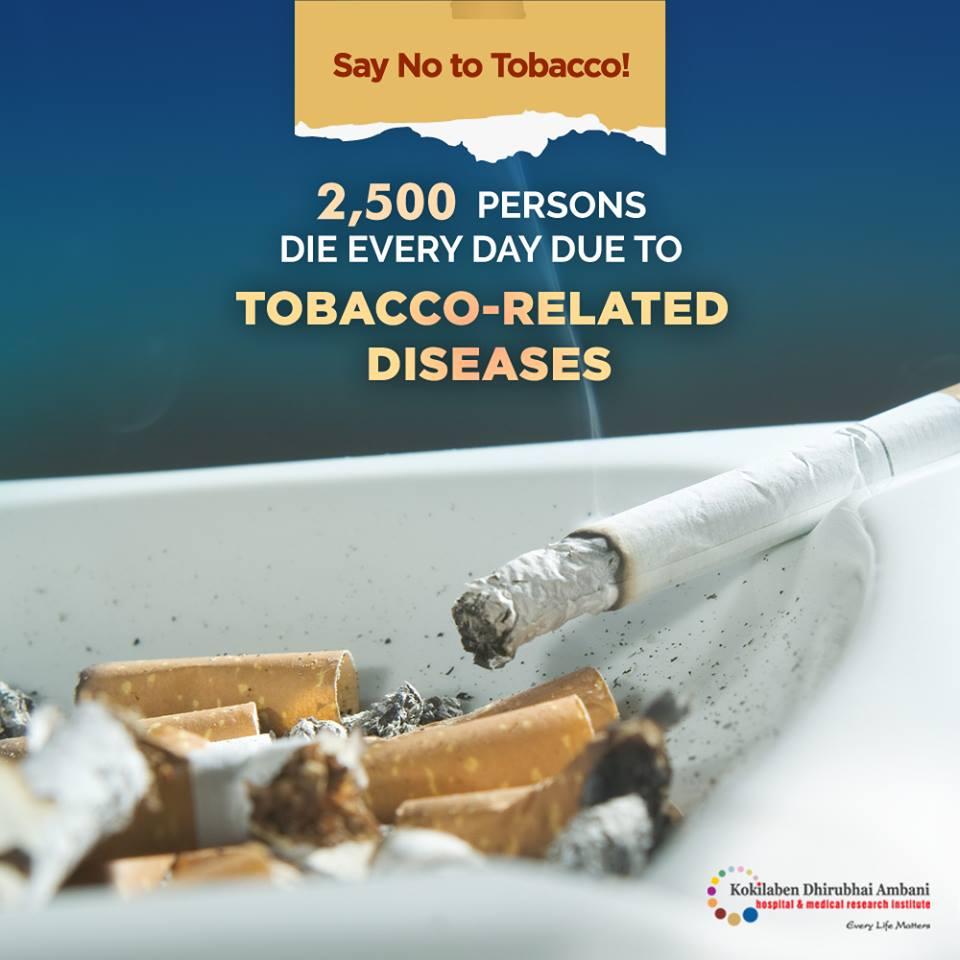 Say NO to tobacco!