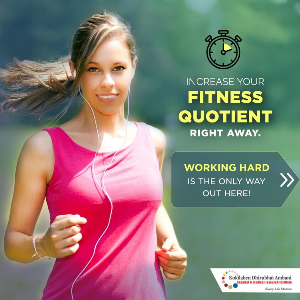 Increase your fitness quotient