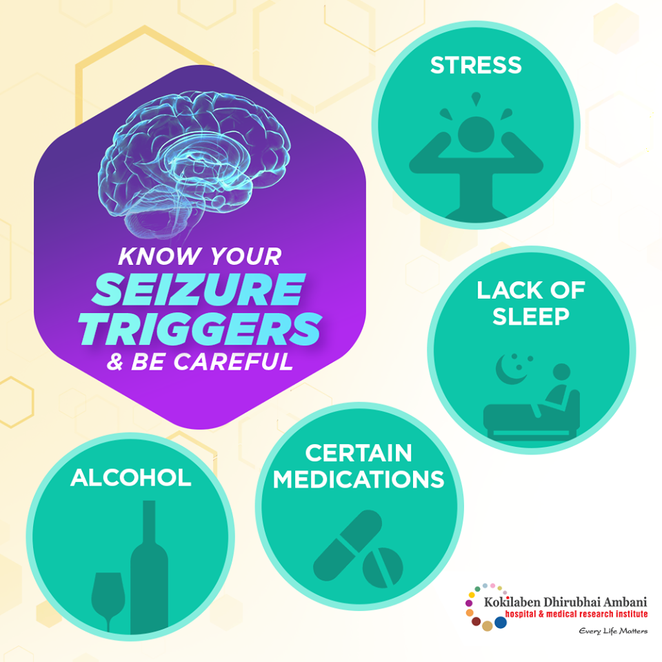 Know your seizure triggers