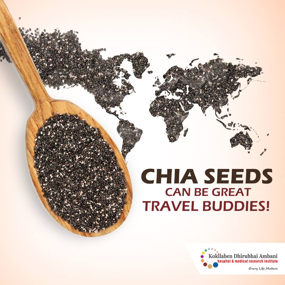 Chia Seeds: Your Travel Buddy