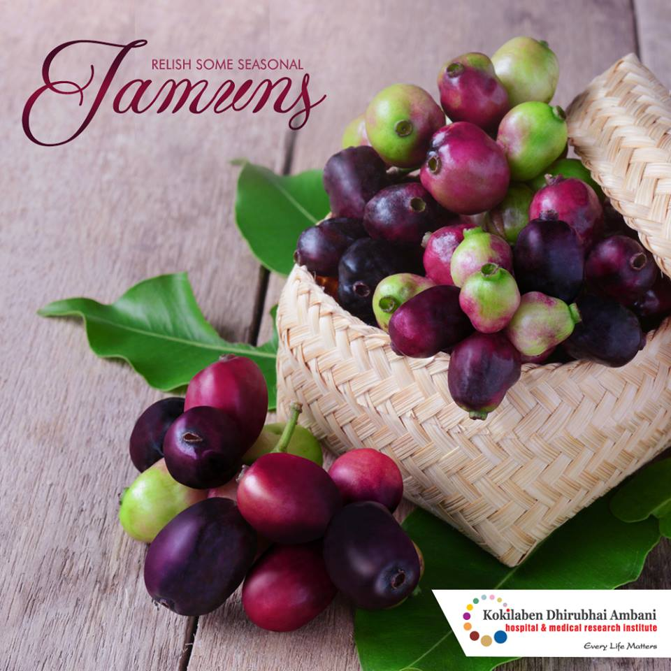 Health benefits of Jamuns