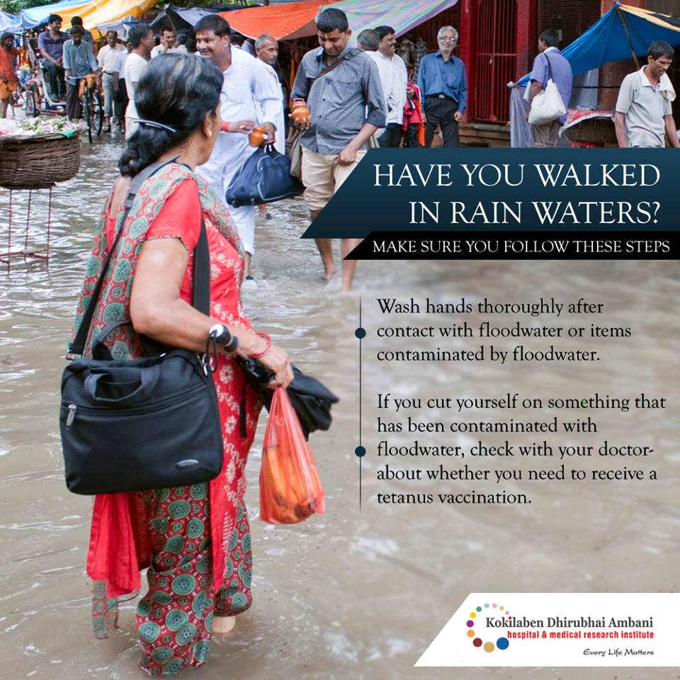 Have you walked in rain waters?
