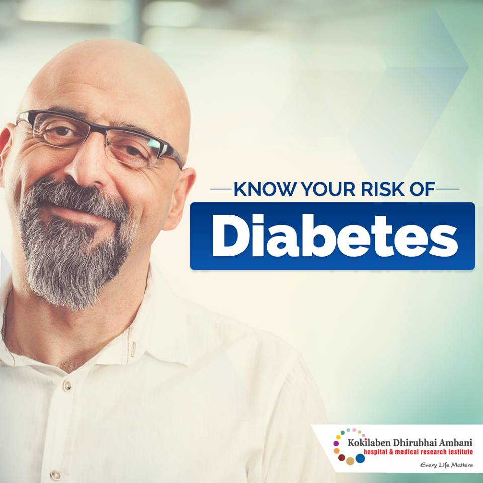 Know your risks of diabetes