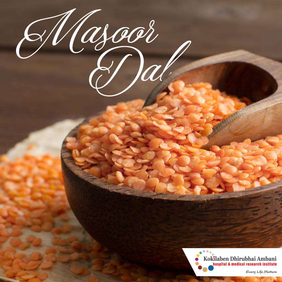 Benefits of Masoor Dal - Health Tips from Kokilaben Hospital