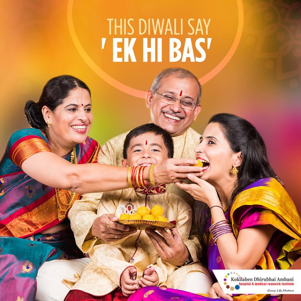 Celebrate a healthy Diwali