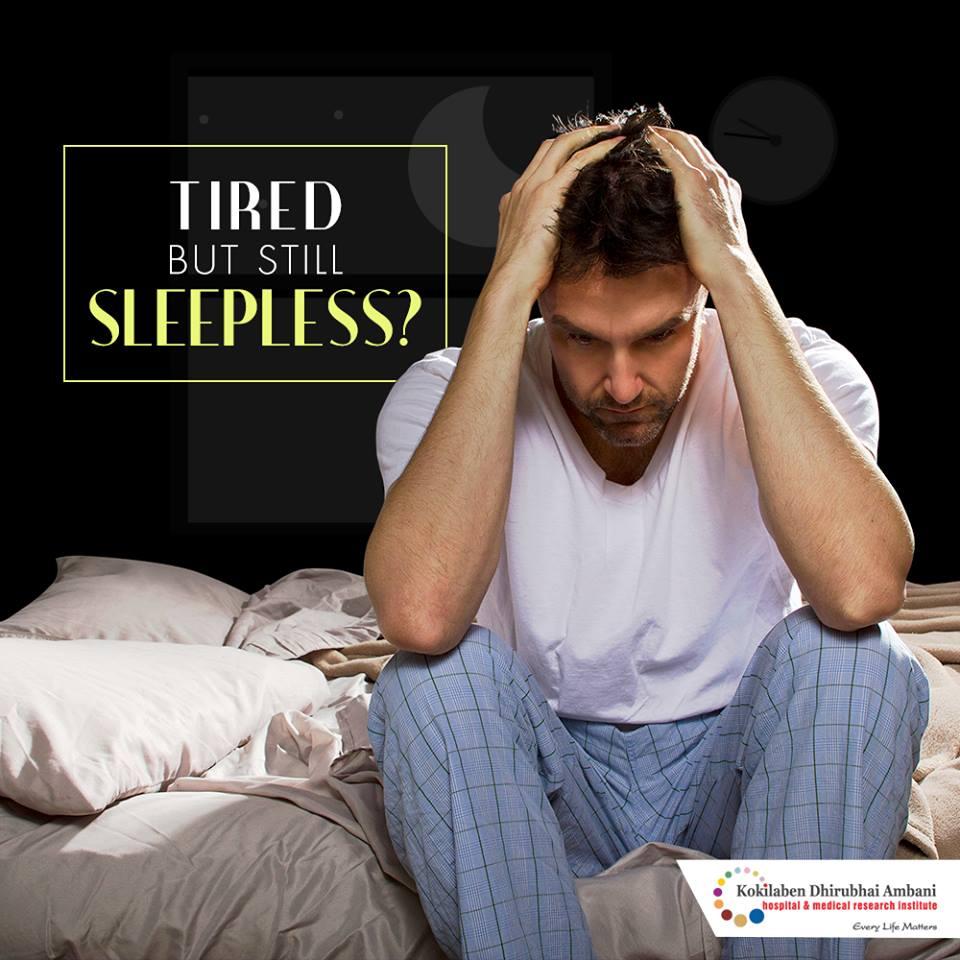 Tired but still sleepless?