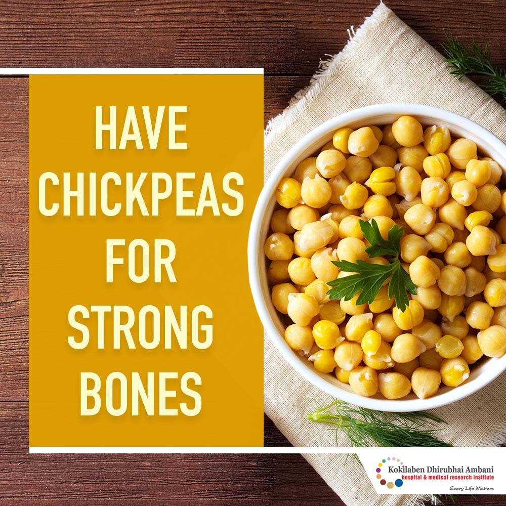 Chickpeas: Good for your bones