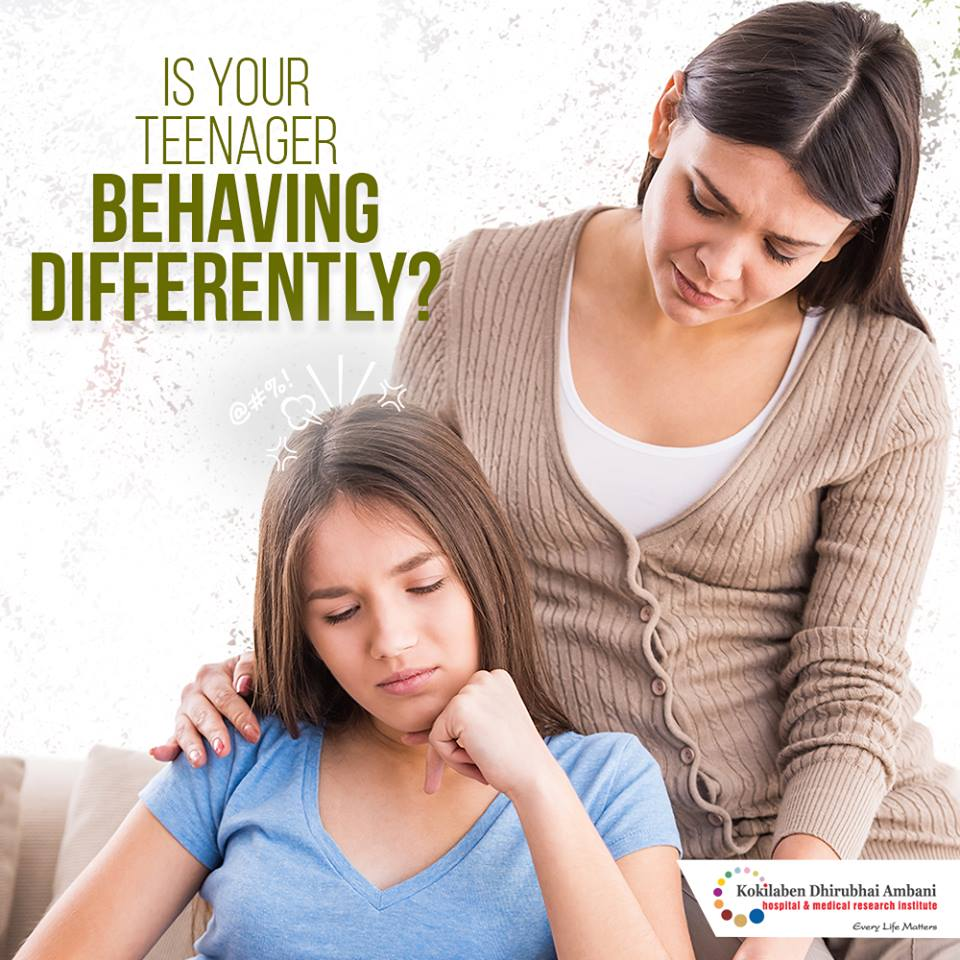 Is your teenager behaving differently?