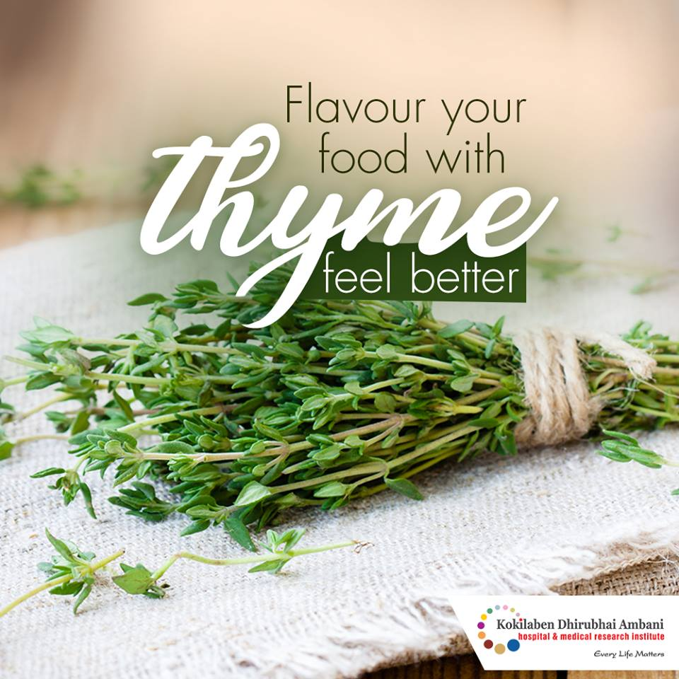 Flavour your food with Thyme