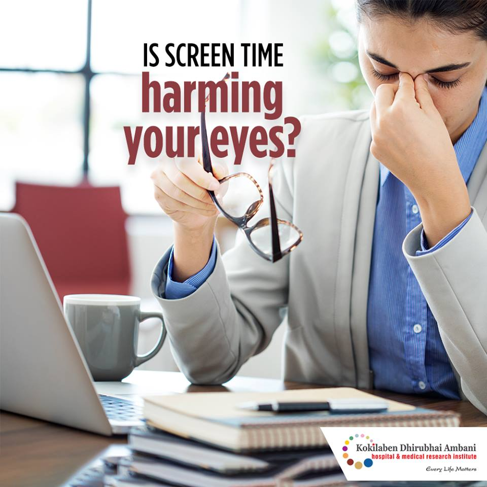 Is screen time harming your eyes?