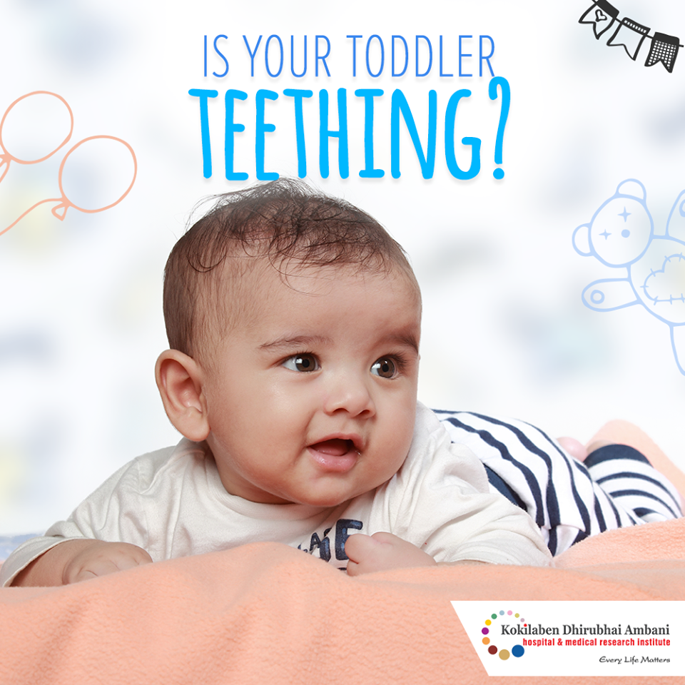 Is your toddler teething?