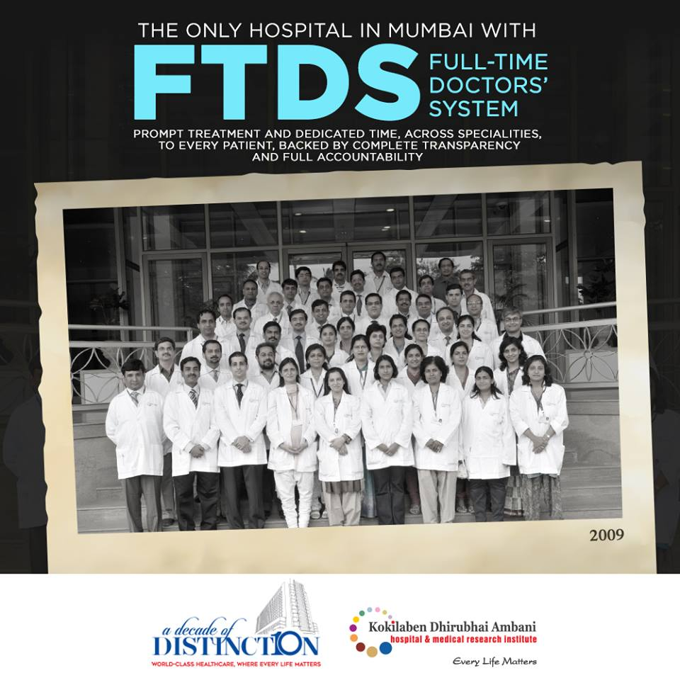 The only hospital in Mumbai with FTDS