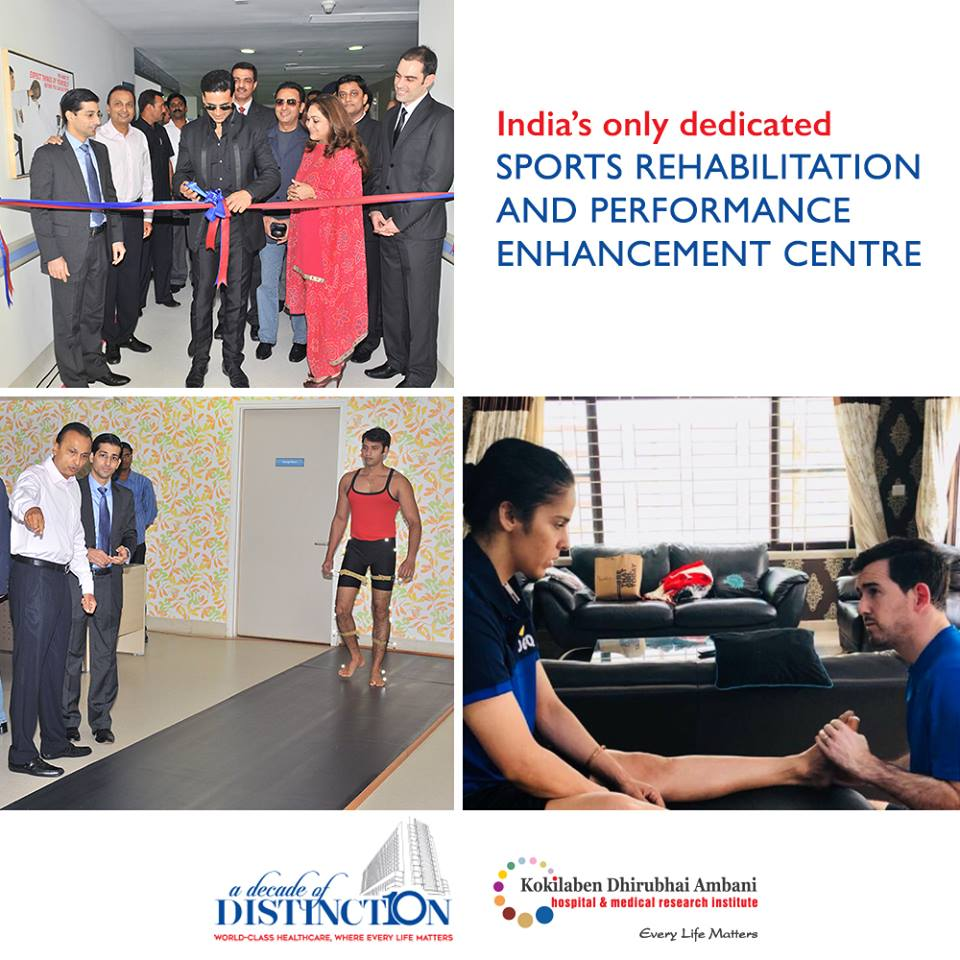 India's first dedicated Sports Rehabilitation and Performance Enhancement Centre