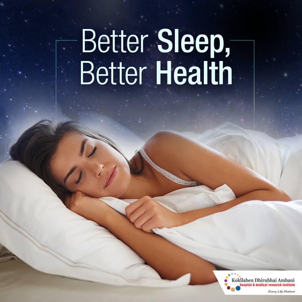 Better sleep, better health