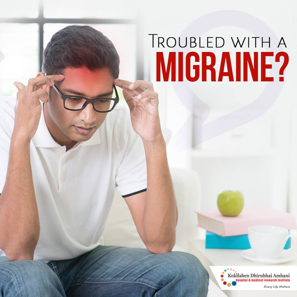 Troubled with a migraine?
