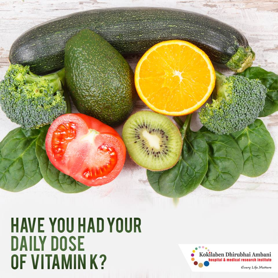 Have you had your daily dose of vitamin K?