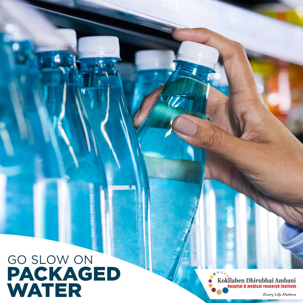 Give up on packaged water!
