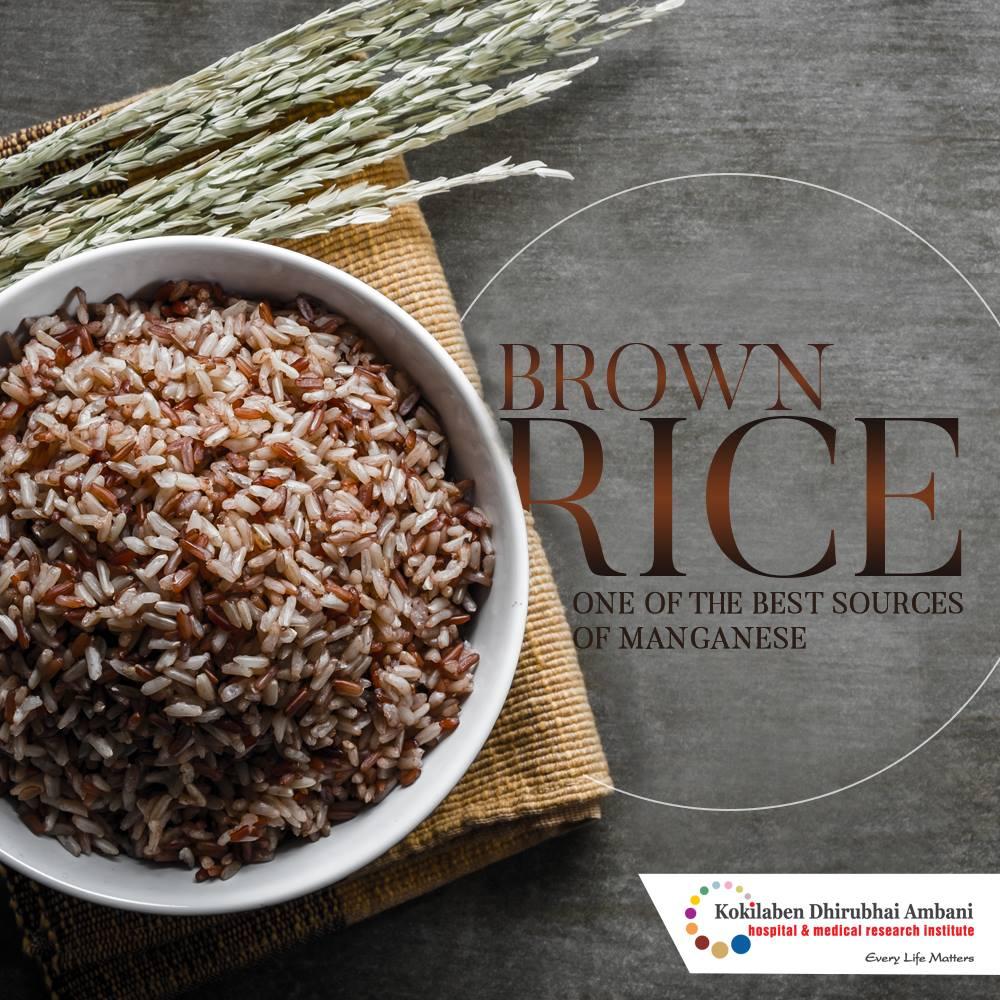 Brown Rice - a manganese powerhouse
