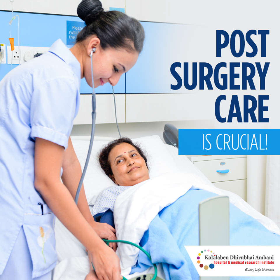 Post surgery care is crucial!
