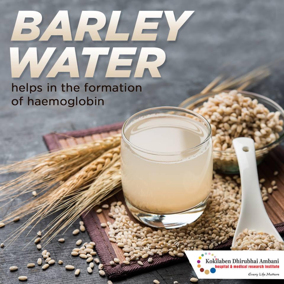 Benefits of barley water