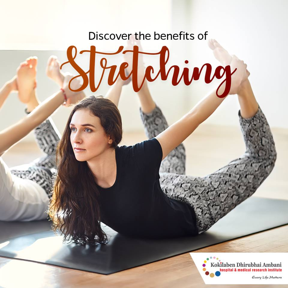 Discover the benefits of stretching