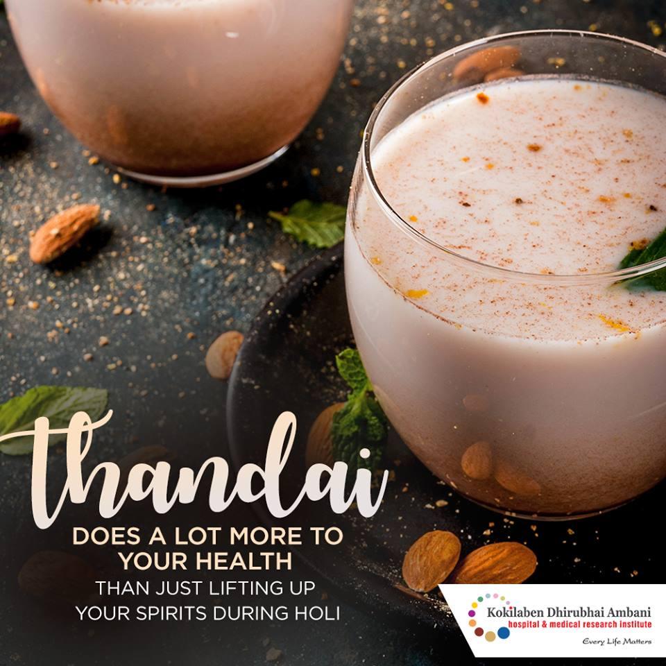 Benefits of Thandai
